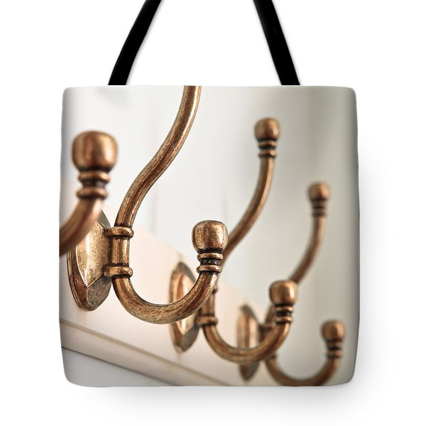 Coat Hooks Tote Bag by Tom Gowanlock