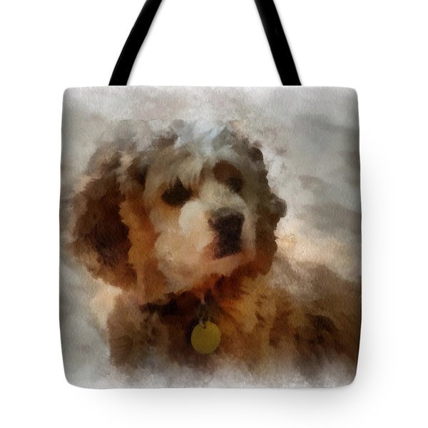 Cocker Spaniel Photo Art 01 Tote Bag by Thomas Woolworth