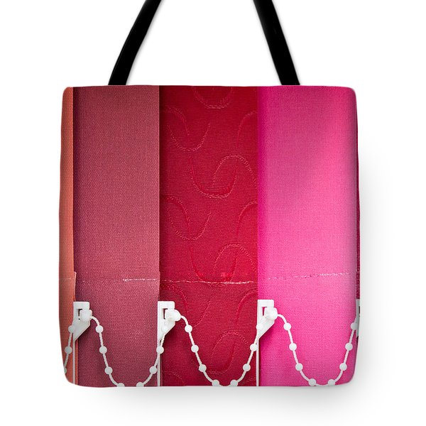 Colorful Blind Tote Bag by Tom Gowanlock
