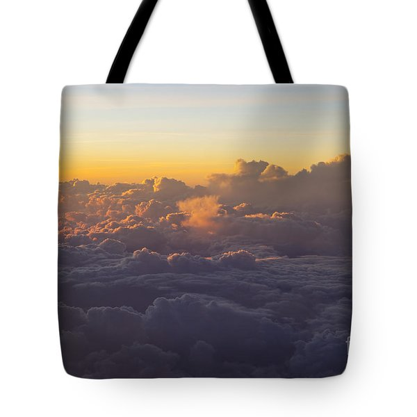 Colorful Clouds Tote Bag by Brian Jannsen
