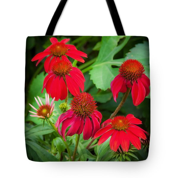 Coneflowers Echinacea Rudbeckia Tote Bag by Rich Franco
