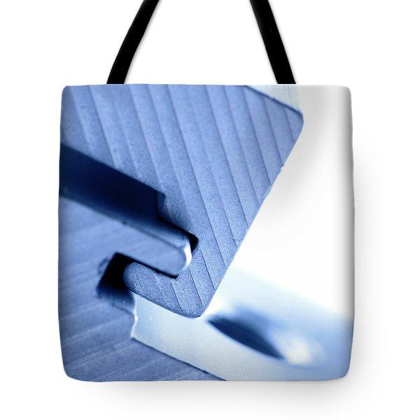 Connecting tools Tote Bag by Michal Bednarek