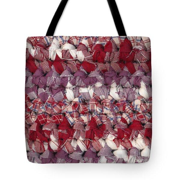 Crochet Rag Rug Tote Bag by Kerstin Ivarsson