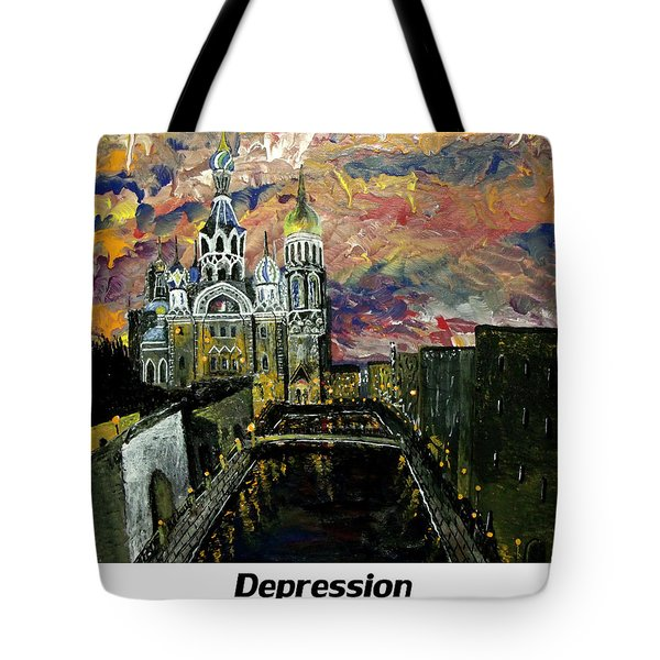 Depression  Tote Bag by Mark Moore