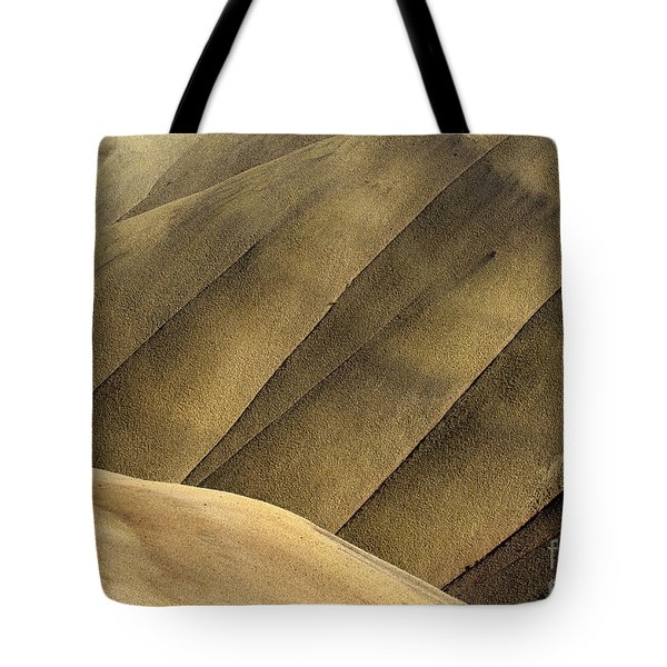 Desert Lines Tote Bag by Mike  Dawson