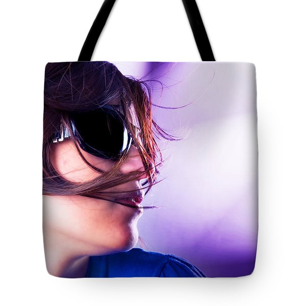 Disco Girl Tote Bag by Michal Bednarek