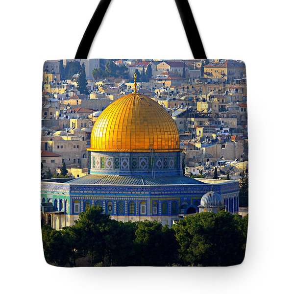 Dome of the Rock Tote Bag by Stephen Stookey