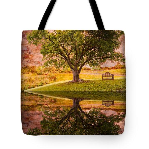 Dreaming Tote Bag by Debra and Dave Vanderlaan