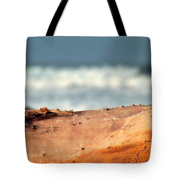 Drift Wood Tote Bag by Henrik Lehnerer