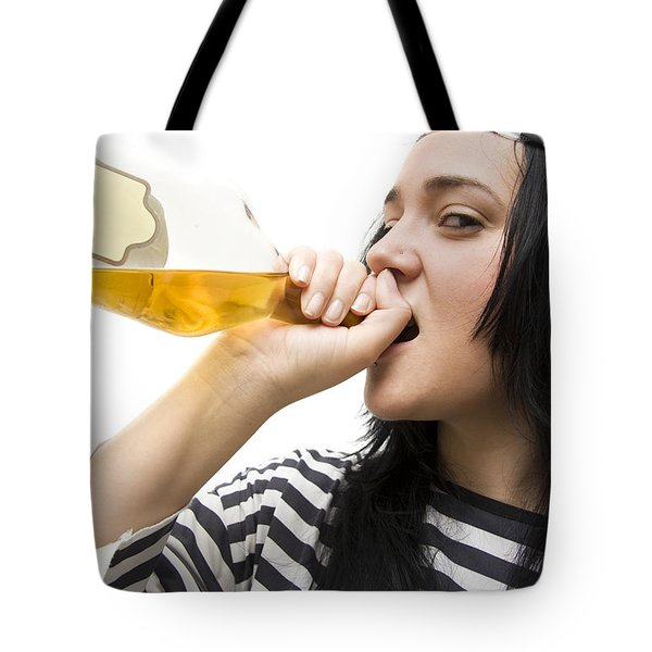 Drinking Detainee Tote Bag by Jorgo Photography - Wall Art Gallery