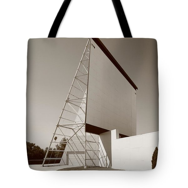 Drive-in Movie Tote Bag by Frank Romeo