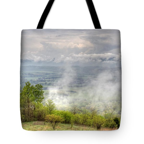 Dunlap Valley Tote Bag by David Troxel
