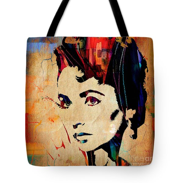 Elizabeth Taylor Collection Tote Bag by Marvin Blaine