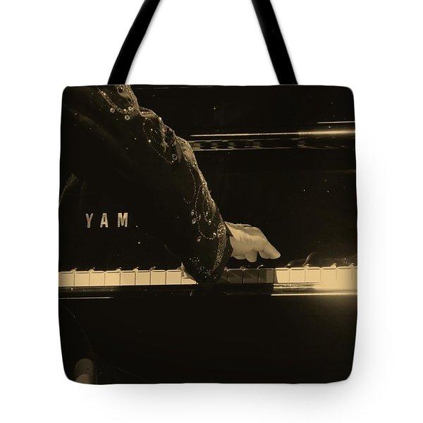 Elton John Tote Bag by Devina Browning