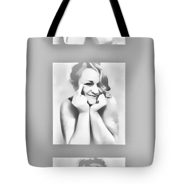 Emotions Tote Bag by Kristie  Bonnewell