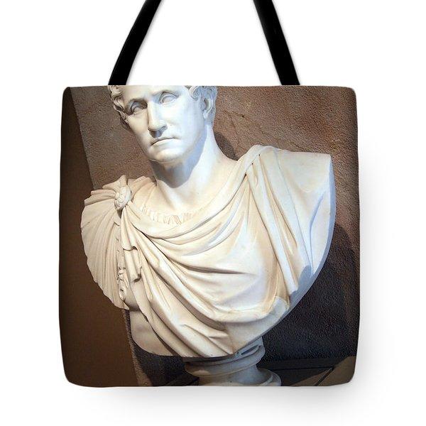 Emperor George Washington Tote Bag by Cora Wandel