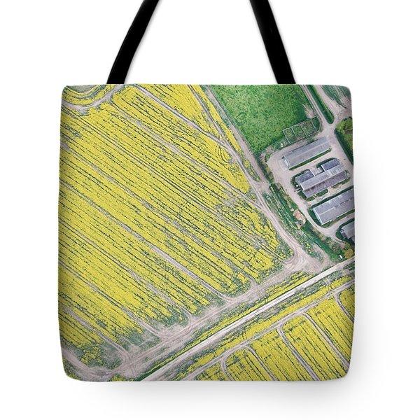 English Farm Tote Bag by Tom Gowanlock