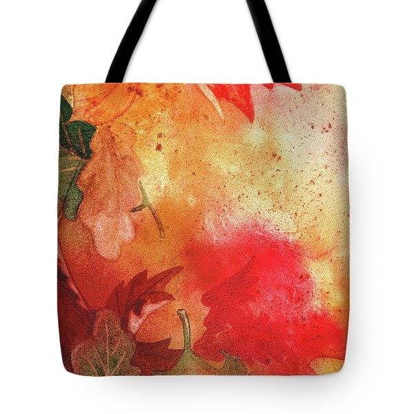 Fall Impressions  Tote Bag by Irina Sztukowski
