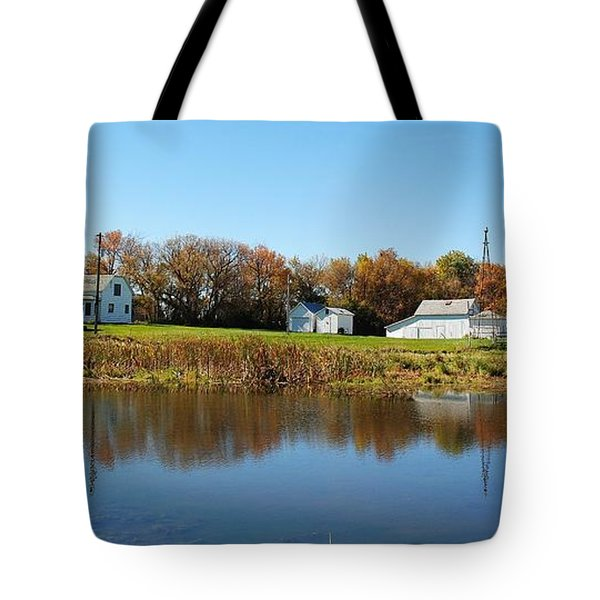 Family farm Tote Bag by Todd and candice Dailey