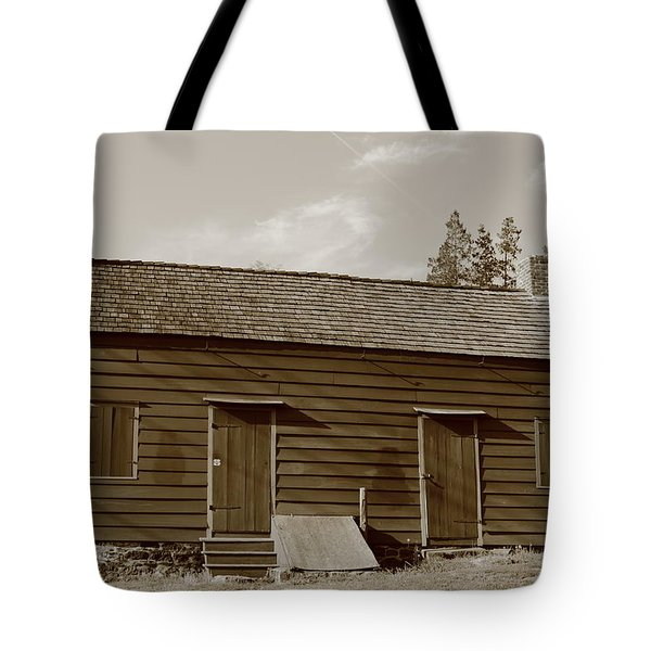 Farmhouse  Tote Bag by Frank Romeo