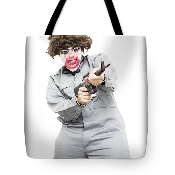 Female Psycho Killer Tote Bag by Jorgo Photography - Wall Art Gallery