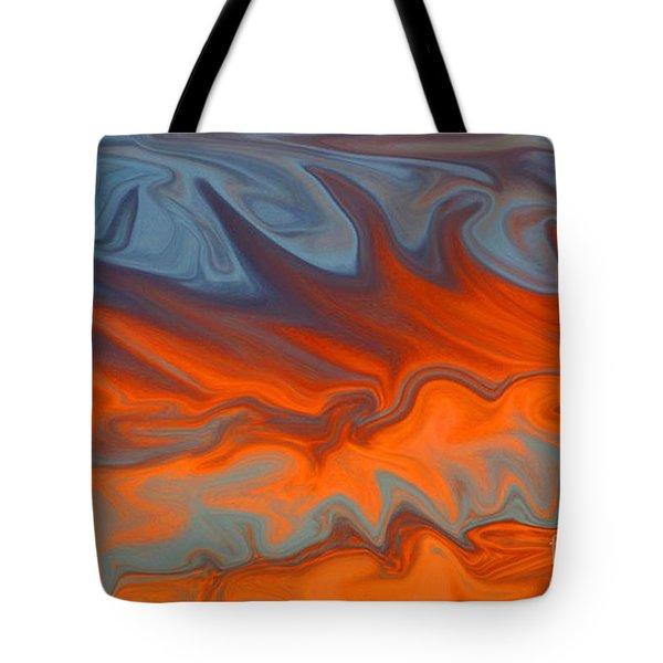 Fire Tote Bag by Carol Lynch