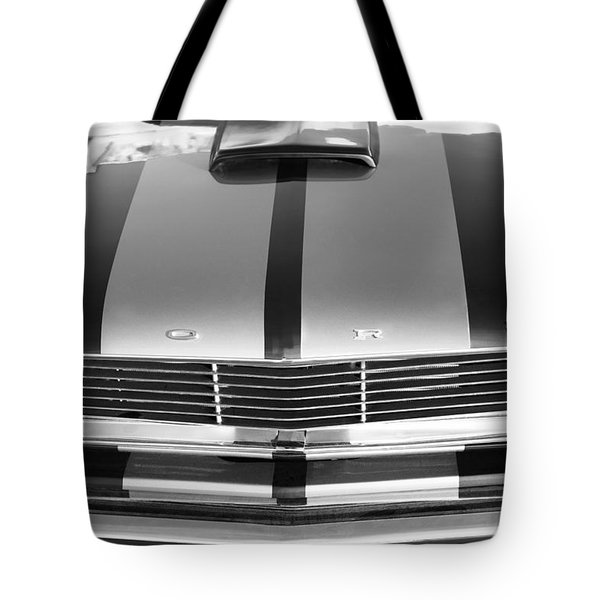Ford Mustang Grille Tote Bag by Jill Reger