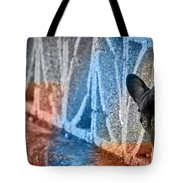 French Bulldog  Tote Bag by Marvin Blaine