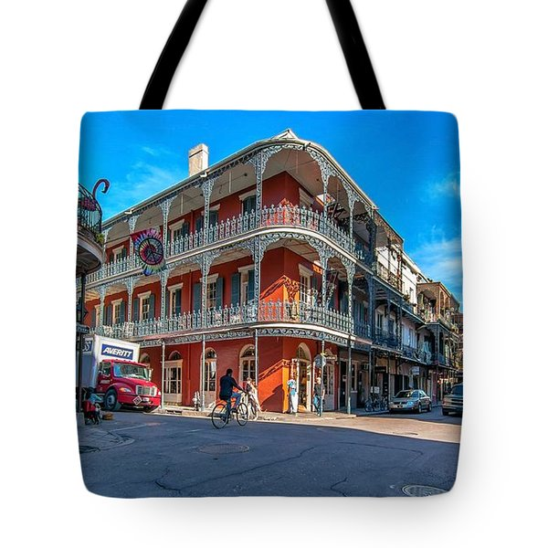 French Quarter Afternoon Tote Bag by Steve Harrington