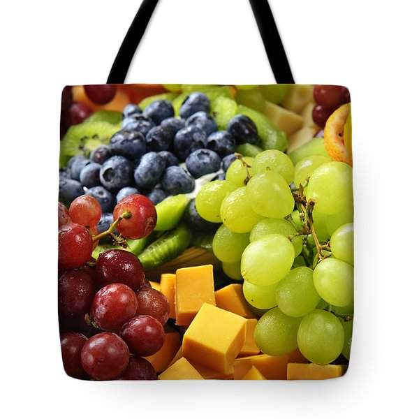 Fresh Fruits Tote Bag by Elena Elisseeva