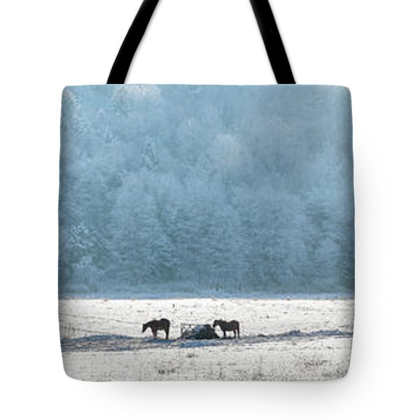 Frosty Morning Tote Bag by Bill  Wakeley