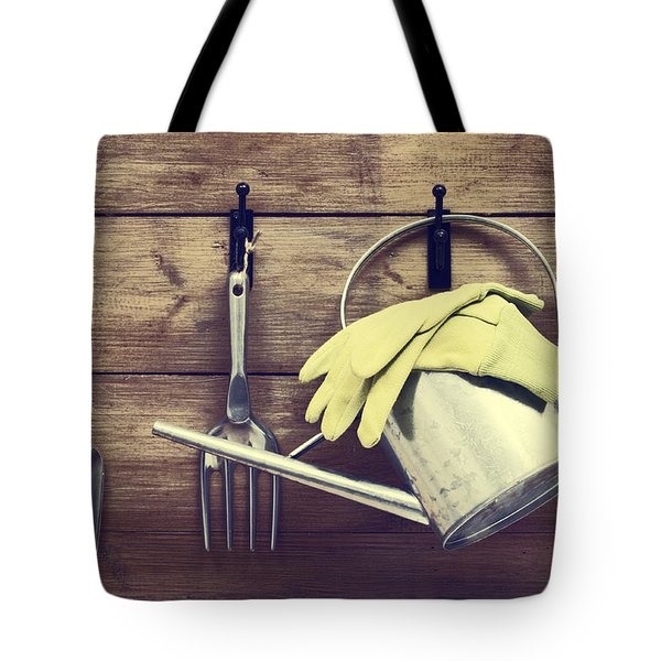 Garden Shed Tote Bag by Amanda And Christopher Elwell