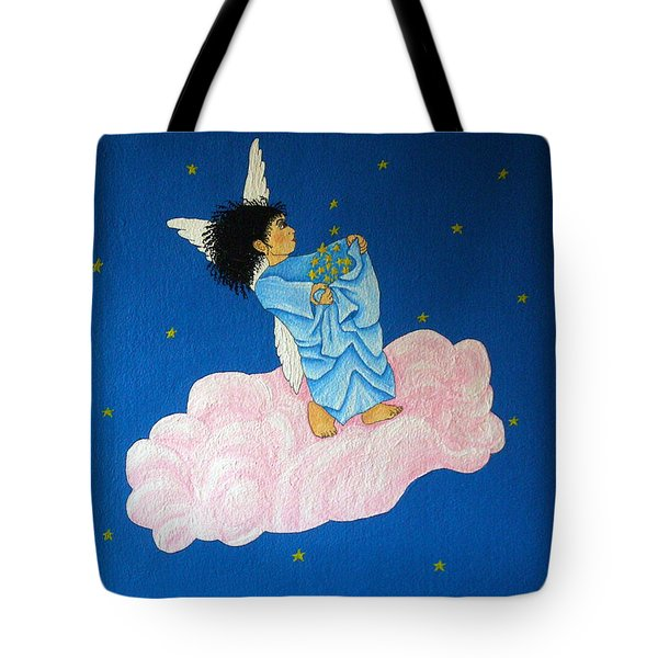 Gathering Starlight Tote Bag by Pamela Allegretto