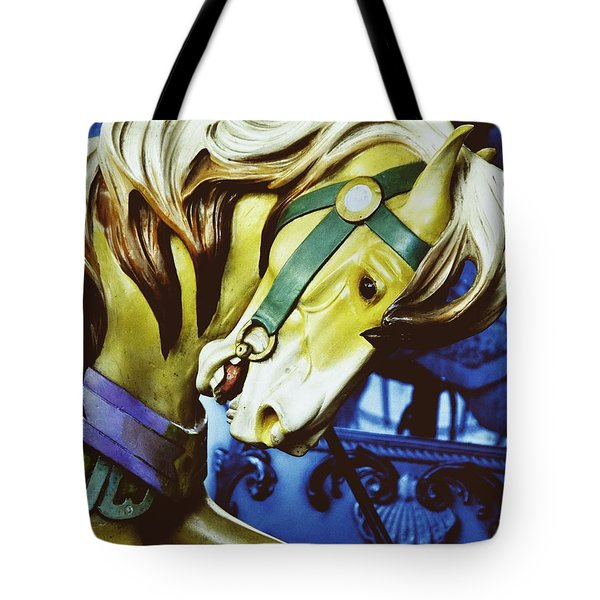 GOLDEN STEED Tote Bag by JAMART Photography