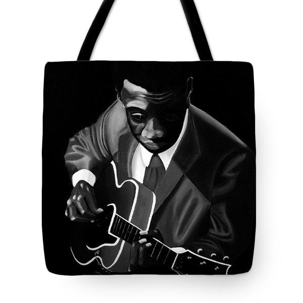 Grant Green Tote Bag by Barbara McMahon
