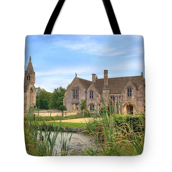 Great Chalfield Manor Tote Bag by Joana Kruse