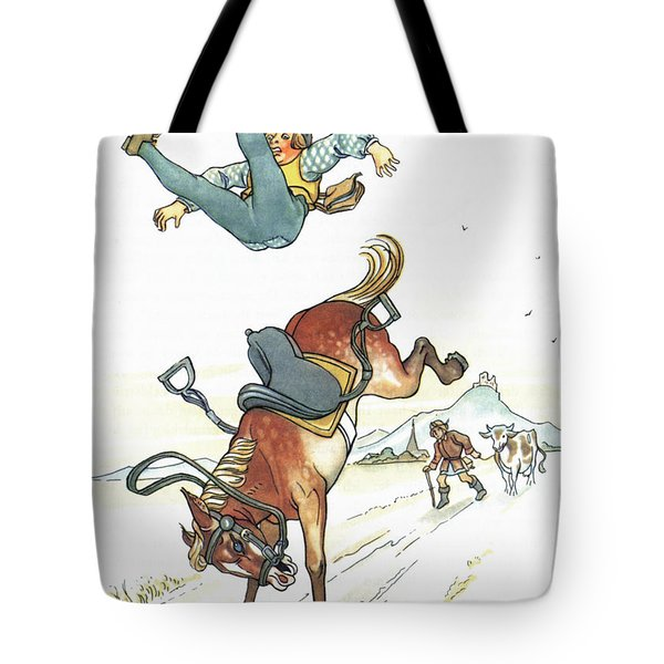 Grimm: Hans In Luck Tote Bag by Granger