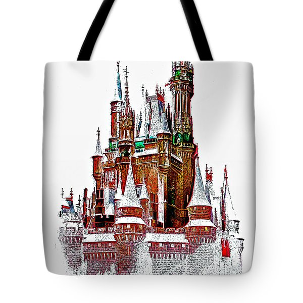 Hall Of The Snow King  Tote Bag by Steve Harrington