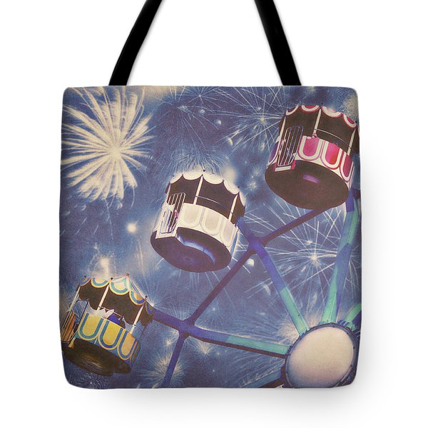 Happy New Year Tote Bag by Angela Doelling AD DESIGN Photo and PhotoArt