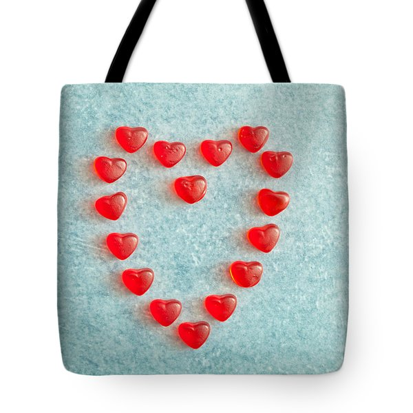 Heart Shape Tote Bag by Tom Gowanlock