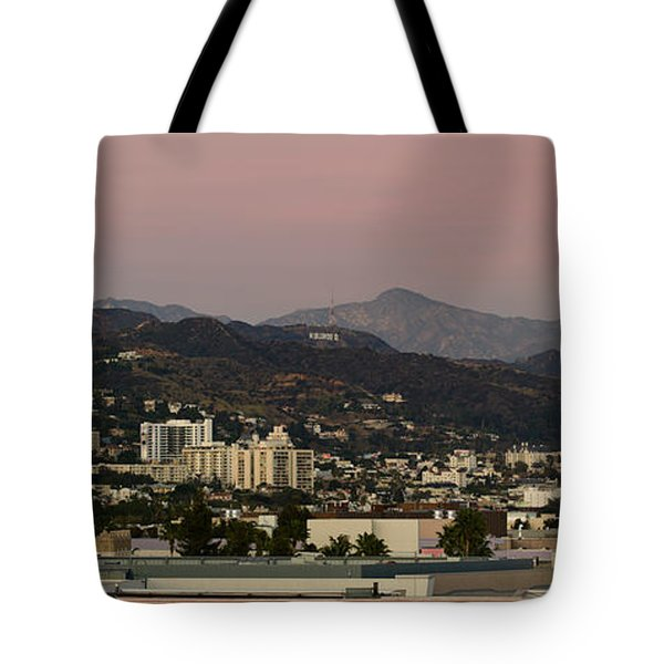 High Angle View Of A City, Beverly Tote Bag by Panoramic Images