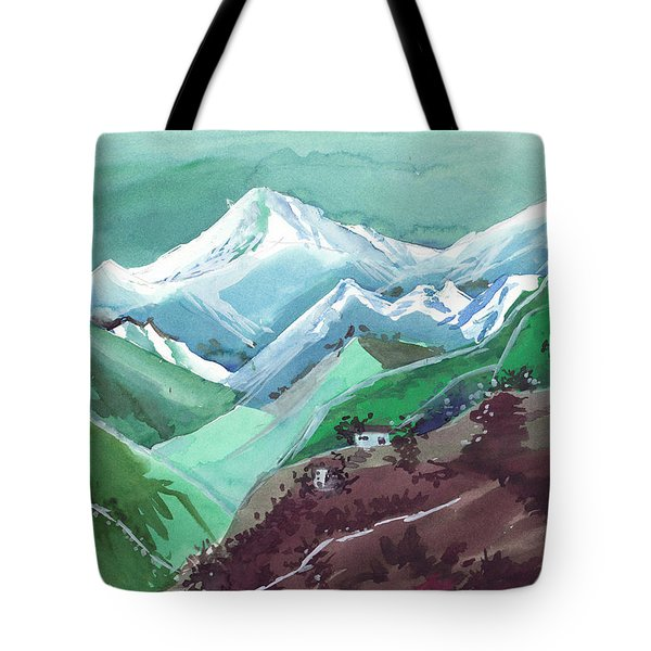 Himalaya 2 Tote Bag by Anil Nene
