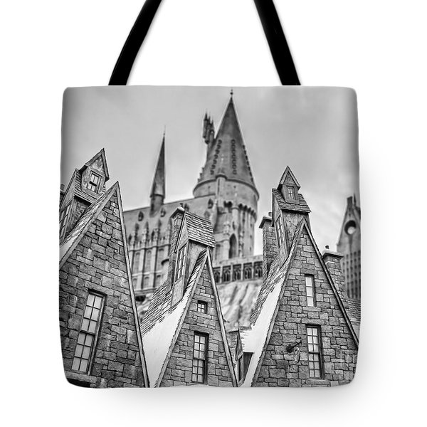 Postcard From Hogsmeade Tote Bag by Edward Fielding