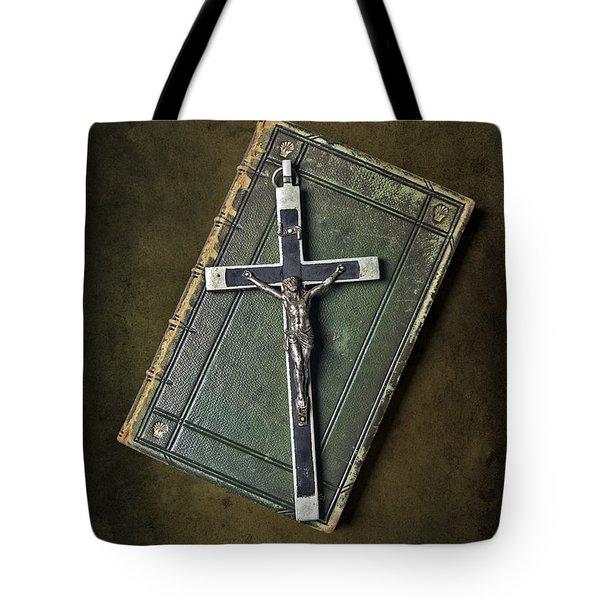Holy Book Tote Bag by Joana Kruse