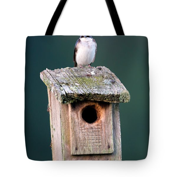 Home Sweet Home Tote Bag by Bill Wakeley