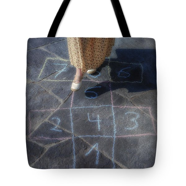 Hopscotch Tote Bag by Joana Kruse