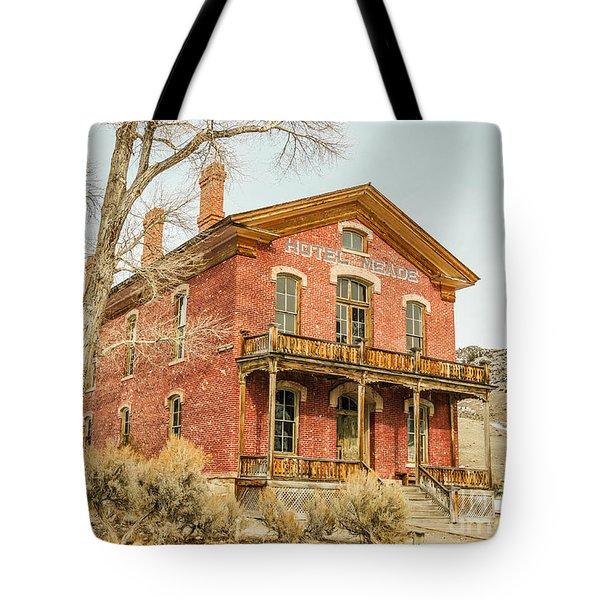 Hotel Meade Tote Bag by Sue Smith