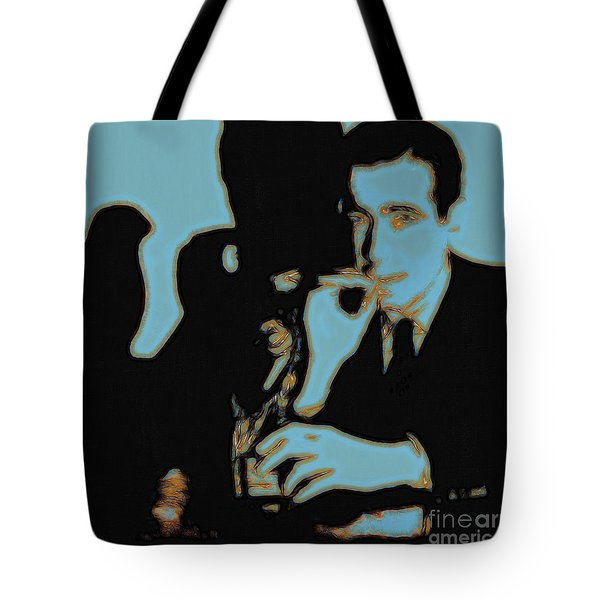 Humphrey Bogart And The Maltese Falcon 20130323m88 Square Tote Bag by Wingsdomain Art and Photography