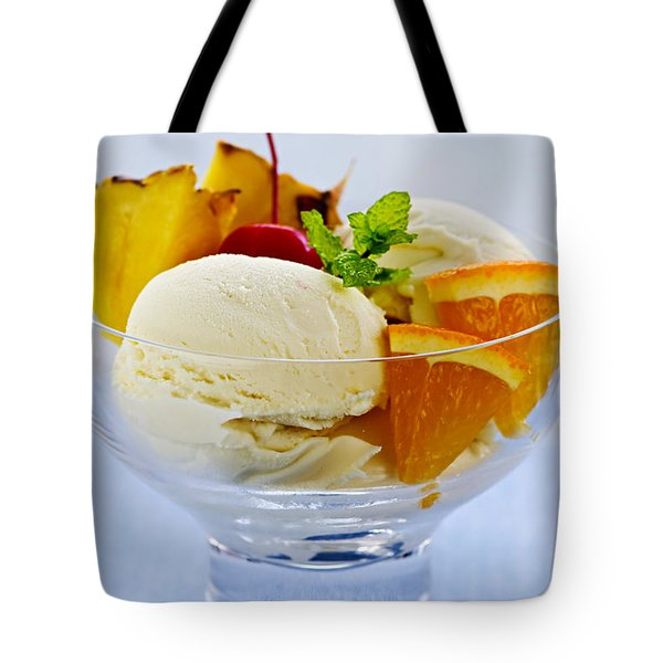Ice cream Tote Bag by Elena Elisseeva