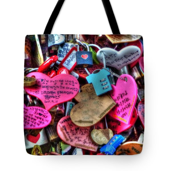 If You Love It Lock It  Tote Bag by Michael Garyet